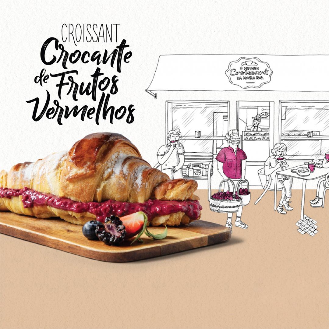 Um croissant muito crrrrocante!