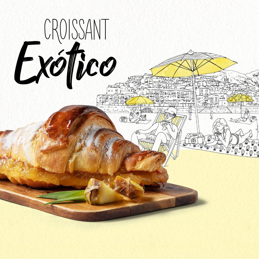 Croissant O Exótico