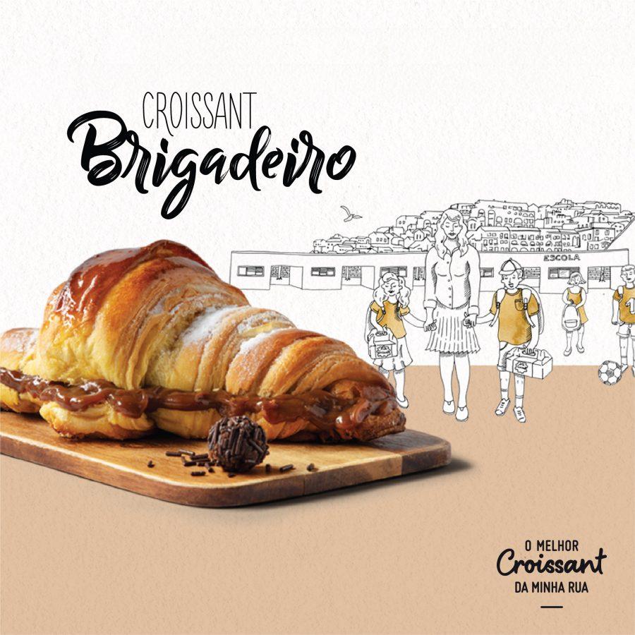 Croissant Brigadeiro