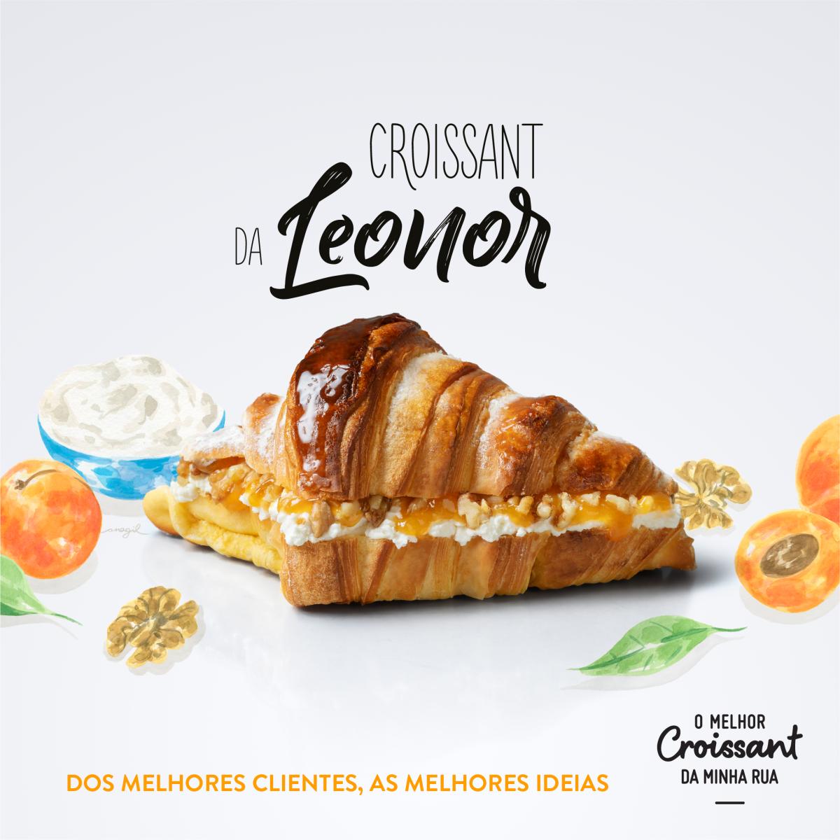 O Melhor Croissant da Minha Rua lança edição especial com Mascarpone – uma ideia da cliente Leonor