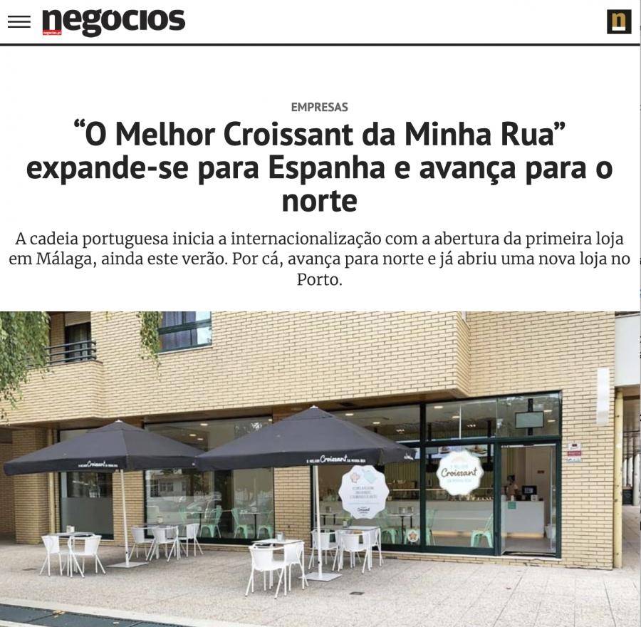 Hola España! Olá Porto! A nossas novas lojas já dão que falar no Jornal de Negócios.